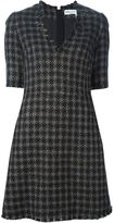 Sonia Rykiel checked tweed dress