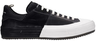 Officine Creative Mes 005 Sneakers In Black Leather