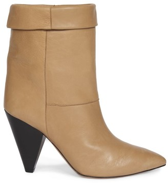 Isabel Marant Luido Point Toe Leather Boots