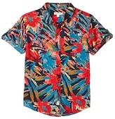 Appaman Kids Pattern Shirt (Toddler/Little Kids/Big Kids) (Rhapis Palm) Boy's Clothing