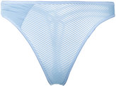 Marlies Dekkers Space Odyssey thong - women - Cotton/Polyester/Spandex/Elastane - L