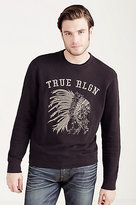 True Religion Logo Mens Pullover