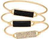 Guess Three-Piece Bangle Bracelet Set