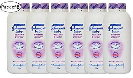 Johnson's Baby Johnson's Baby Bed Time Powder (100g) (Pack of 6)