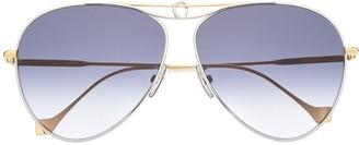Loewe Aviator-Frame Sunglasses