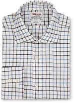 Tm Lewin Country Check Brushed Cotton Regular Fit Shirt