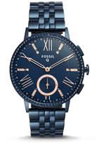 Fossil Hybrid Smartwatch - Q Gazer Navy Blue Stainless Steel