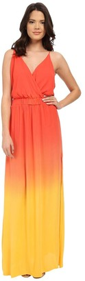 Young Fabulous & Broke Women's Nala Strappy Surplice Maxi Dress