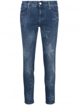 Stella McCartney embroidered star jeans