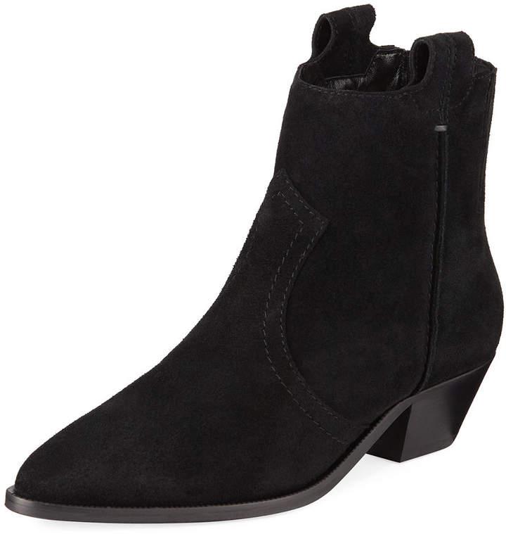 Aquatalia Kirsten Suede Western Boots