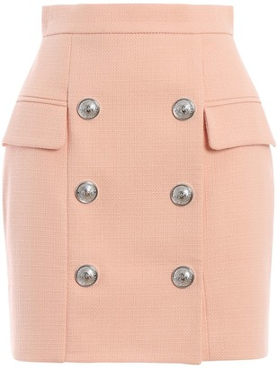 Balmain Double-Breasted Skirt