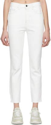 Jordache White Vintage Crop Jeans