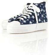 Topshop TRACKSTAR Chunky Hi-top Trainers