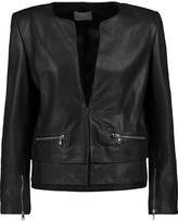 Sandro Vortex leather jacket