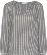 Joie Barbosa striped cotton top