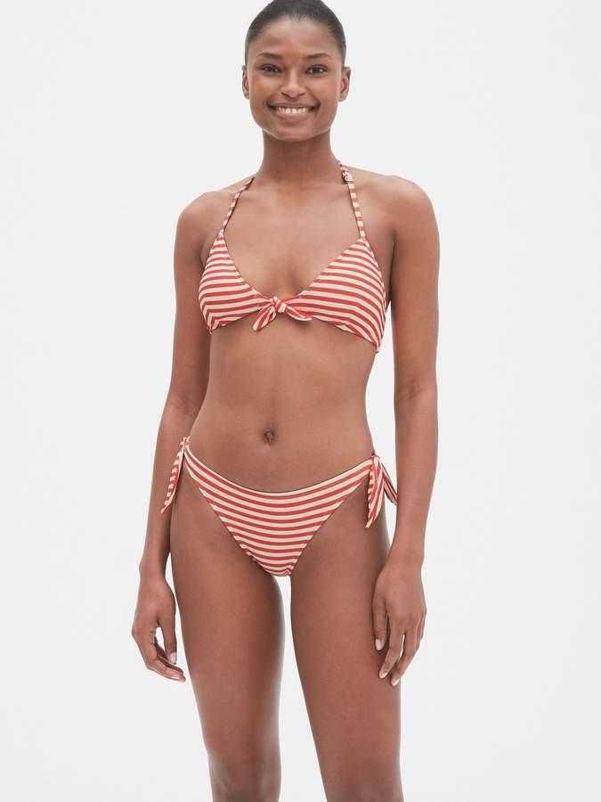 aa438b41ea Tie Back Bandeau Bikini - ShopStyle