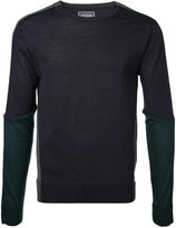 Wooyoungmi contrast sweatshirt - men - Wool - 50