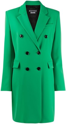 Boutique Moschino Double-Breasted Blazer Dress