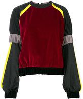 NO KA 'OI No Ka' Oi colour blocked sweatshirt
