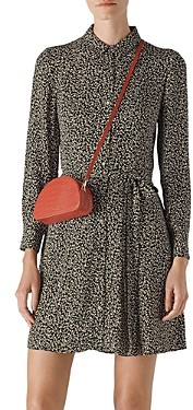 Whistles Autumn Floral Mini Shirt Dress