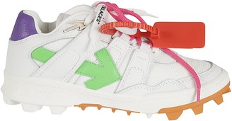 Off-White Leather Mountain Cleats Sneakers
