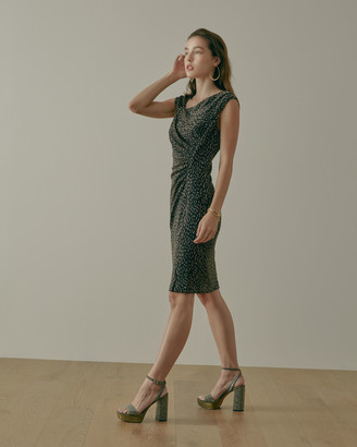 Vince Camuto Asymmetrical Ruched Dress