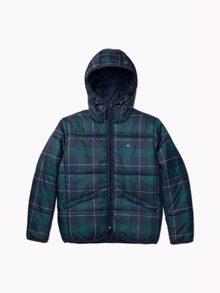 Tommy Hilfiger Essential Packable Plaid Puffer Jacket