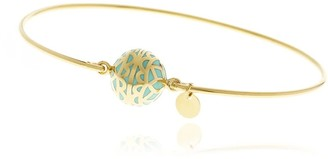 Georgina Jewelry Signature Day Of The Week Limited Edition Bracelet Turquoise Resin Sphere