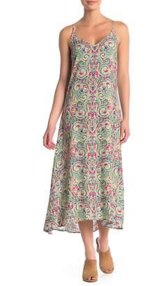 Tart Vera Sleeveless Floral Print Midi Dress