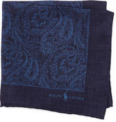 Polo Ralph Lauren Paisley Linen Pocket Square