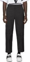 Valentino Black Tech Cargo Pants
