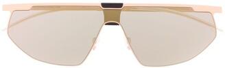 Mykita x Bernhard Willhelm Paris oversized tinted sunglasses