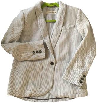 Golden Goose Grey Linen Jackets