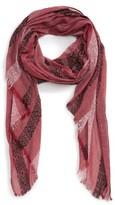 Sole Society Women's Stripe Knit Scarf
