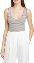 Brunello Cucinelli Metallic Stripe Tank