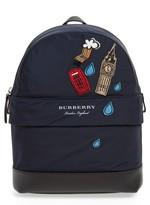 Burberry Infant Girl's Nico London Backpack - Black