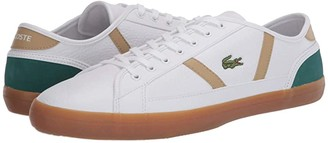 Lacoste Sideline 120 3 (White/Green) Men's Shoes