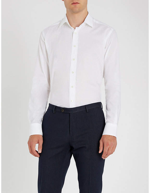 Etro Patterned regular-fit shirt