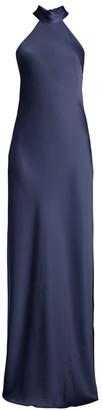Jay Godfrey Brisco Halter Evening Gown