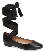 Topshop Women's Kute Ankle Tie Flat