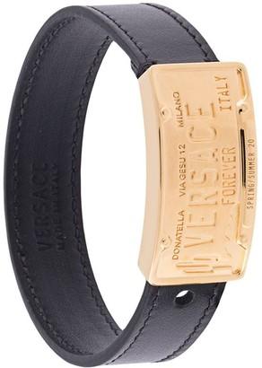 Versace Licence Plate Bracelet
