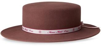 Maison Michel Kiki fedora hat