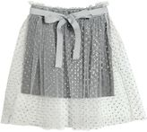 Glittered Tulle & Jersey Skirt
