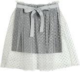 Miss Grant Glittered Tulle & Jersey Skirt