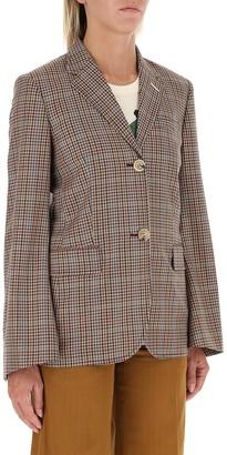 Lanvin Flared Sleeve Tailored Jacket