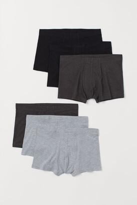 H&M 6-pack Short Boxer Shorts - Black