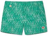Missoni Slim-fit Short-length Printed Swim Shorts