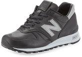 New Balance Men's Age of Exploration Bespoke Leather Sneaker, Black/Silver