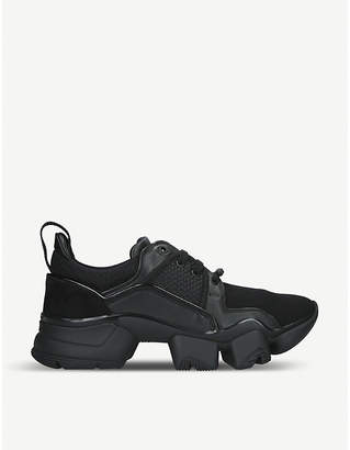 Givenchy Jaw neoprene and leather trainers