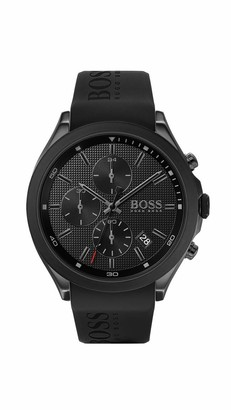 HUGO BOSS Men's Analogue Quartz Watch with Silicone Strap 1513720